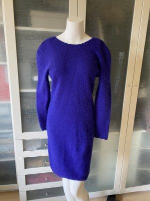 Marni Robe en maille tricotées bleu fluo cachemire