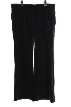 Marni Pantalón de pana negro look casual