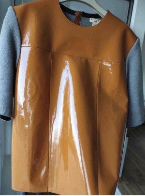 Marni Blouse en cuir multicolore cuir
