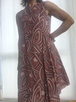 MARNI Designerkleid Sommerkleid, rosé mit typ. Muster, Gr. 36