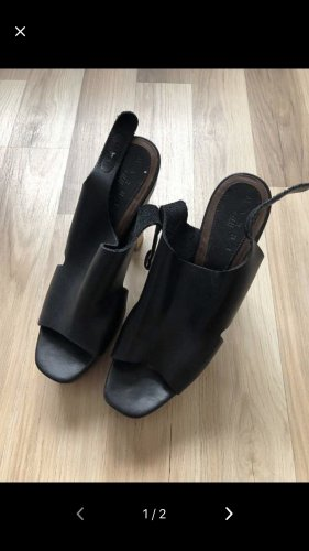 Marni at H&M Clog Sandals black