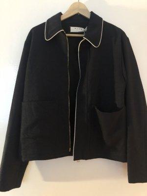 Marni Naval Jacket white-dark blue