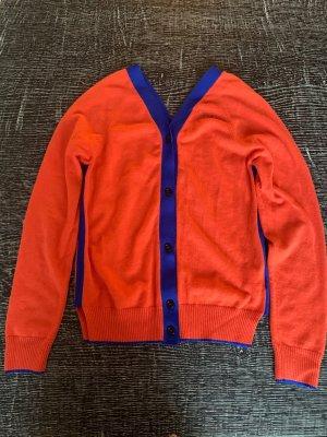 Marni Pullover in cashmere arancione-blu
