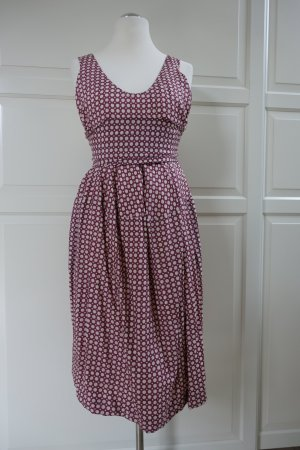 MARNI Kleid, aus Seide, mit süßem Pünktchen-Print, Schleife am Rücken, ital. 44 oder EUR 40