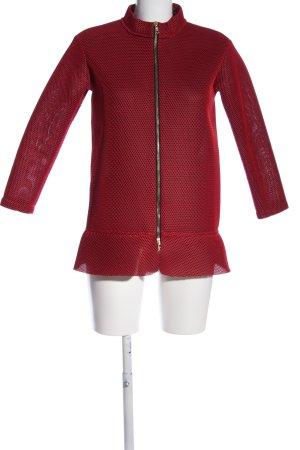 Marni Blazer court rouge style décontracté