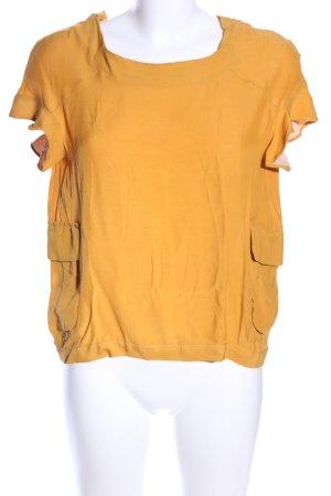 Marni Bluzka z krótkim rękawem jasny pomarańczowy W stylu biznesowym