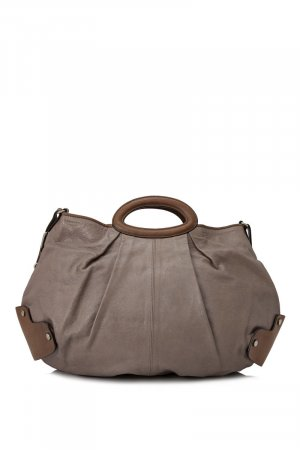 Marni Leather Balloon Satchel