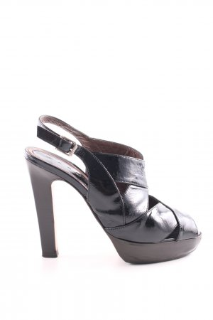 Marni Riemchen-Sandaletten schwarz Elegant
