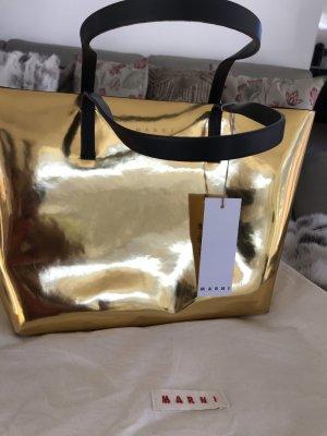 Marni Frame Bag gold-colored-black
