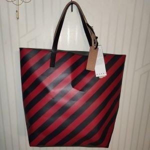 Marni Shopper red-grey