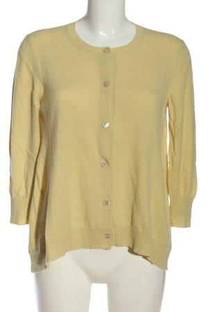 Marni Cardigan tricotés jaune primevère style décontracté