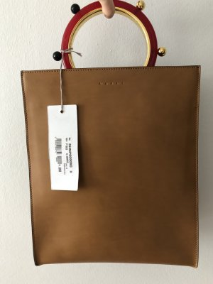 Marni Handbag light brown leather