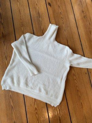 Marni Pull-over à col roulé blanc-crème laine