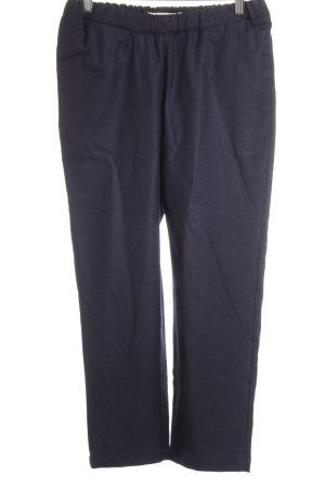Marni Wełniane spodnie ciemnoniebieski W stylu casual