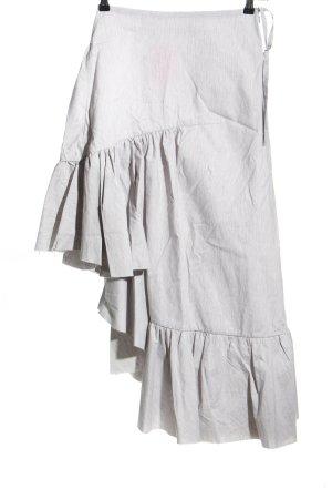 Marques Almeida Jupe asymétrique gris clair style décontracté