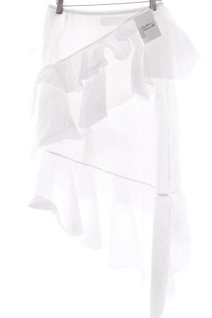 Marques Almeida Asymmetrie-Rock weiß Street-Fashion-Look