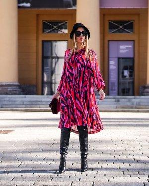 Martha with Love Abito blusa camicia multicolore