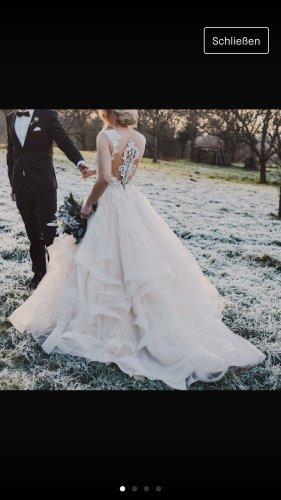 La Martina Wedding Dress cream-nude