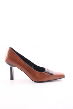 Martinez Valero High Heels braun Business-Look