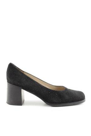 Martinez Valero High Heels schwarz Casual-Look