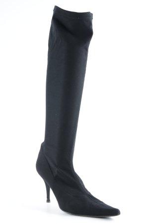 Martinez Valero Stretch Boots black elegant