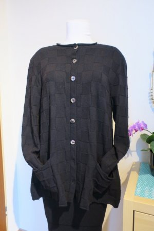Knitted Cardigan black cashmere
