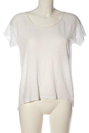 Marx T-Shirt wollweiß Casual-Look