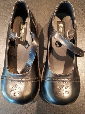 Demonia Zapatos Mary Jane negro