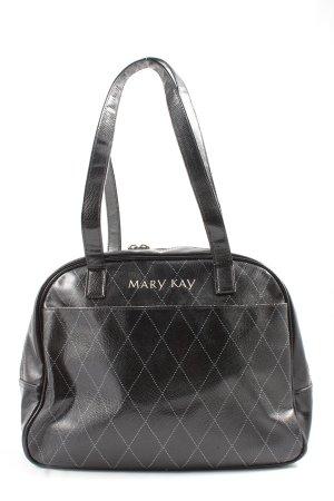 Mary Kay Henkeltasche schwarz grafisches Muster Business-Look