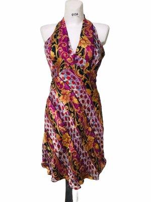 Mary L Couture Damen Sommer Kleid Seide 40