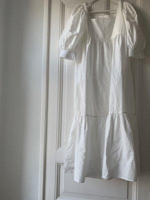 """Maryam Nassir Zadeh """"Yara"""" Poplin Kleid Dress in Weiß US 6 Sommerkleid"""