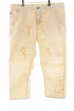 Maryley 3/4 Jeans creme Casual-Look