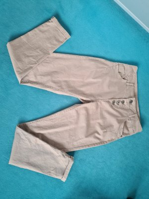 Maryley Pantalon boyfriend beige
