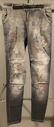 Maryley Pantalone cinque tasche multicolore