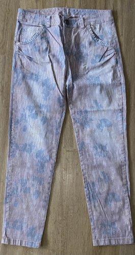 Maryley Spodnie z pięcioma kieszeniami Wielokolorowy Bawełna