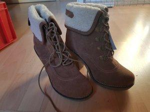 MARYPAZ Damen Boots Gr. 37 NEU in braun