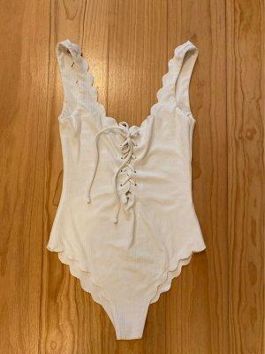 Costume da bagno bianco