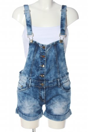mas fashion Bib Denim blue casual look