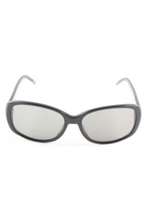 Masca Oval Sunglasses black casual look