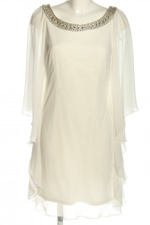 Mascara pour la femme Chiffon Dress natural white wet-look