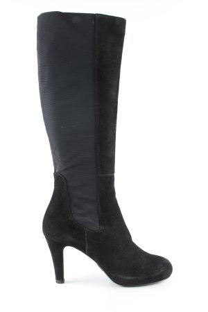 Mascaró Laarzen met hak zwart zakelijke stijl