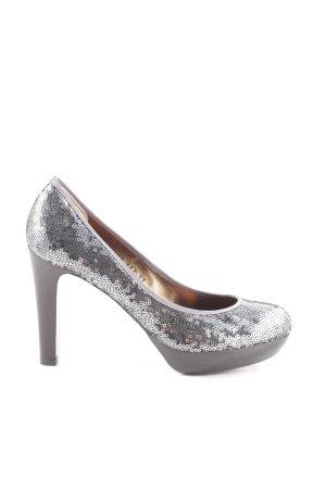 Mascaró High Heels silberfarben-hellgrau Elegant