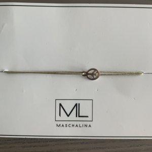 Maschalina Friendship Bracelet silver-colored-grey metal