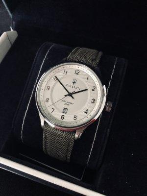 Zegarek ze skórzanym paskiem Wielokolorowy Skóra