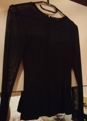Pull & Bear Silk Top black