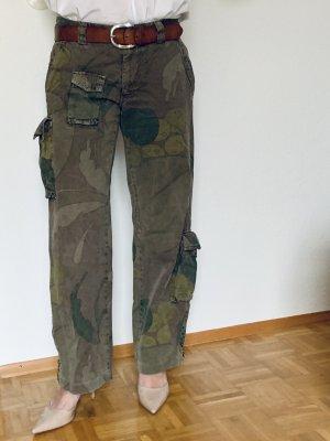 Mason's Spodnie typu boyfriend Wielokolorowy