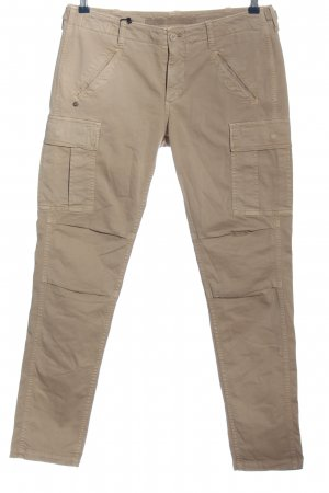 Mason's Cargo Pants bronze-colored casual look