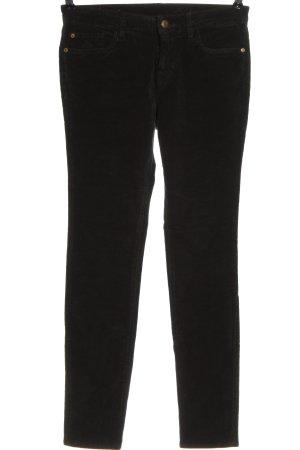 Mason's Pantalón de pana negro-gris claro elegante