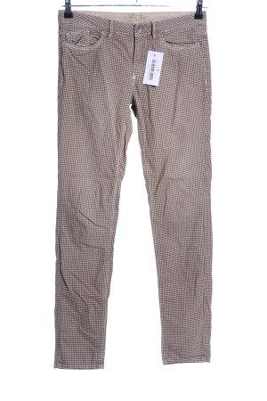 Mason's Pantalone a vita bassa motivo a quadri stile casual