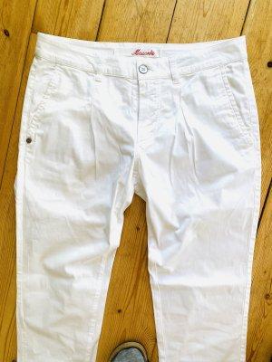 Mason's Wortel jeans wit Katoen